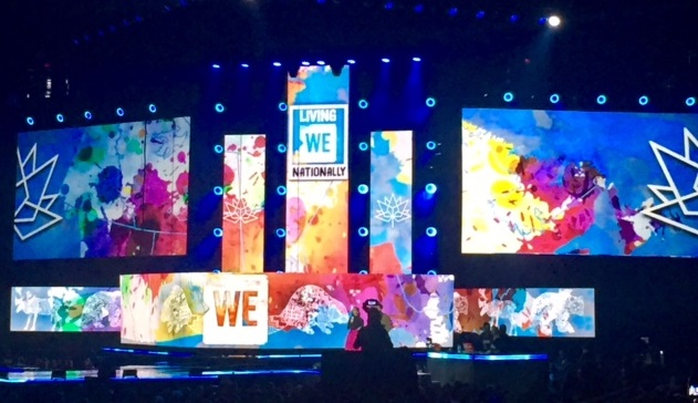 CBFY Mentorship Students Inspired by WE DAY