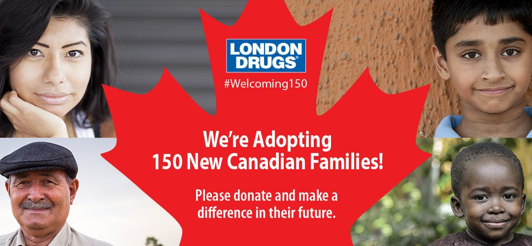 London Drugs' #Welcoming150 Campaign Supporting Refugee Families in Calgary