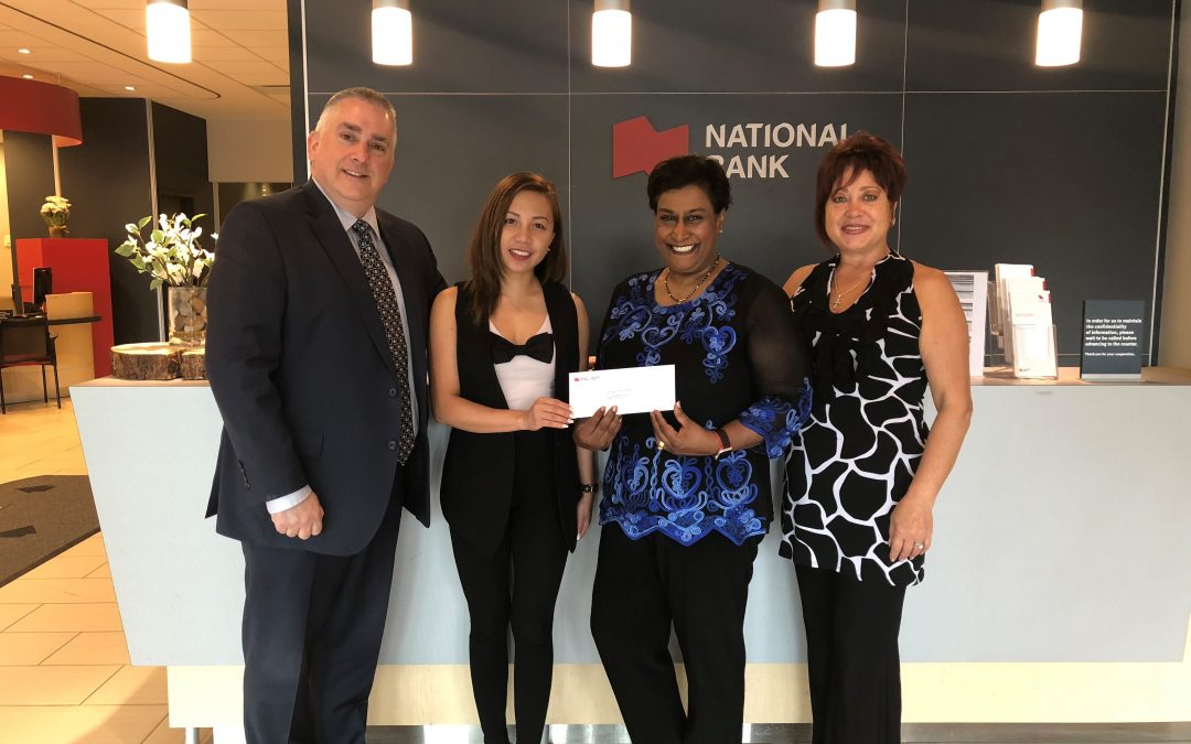 CBFY Receives Donation from the National Bank of Canada's Altamira Foundation