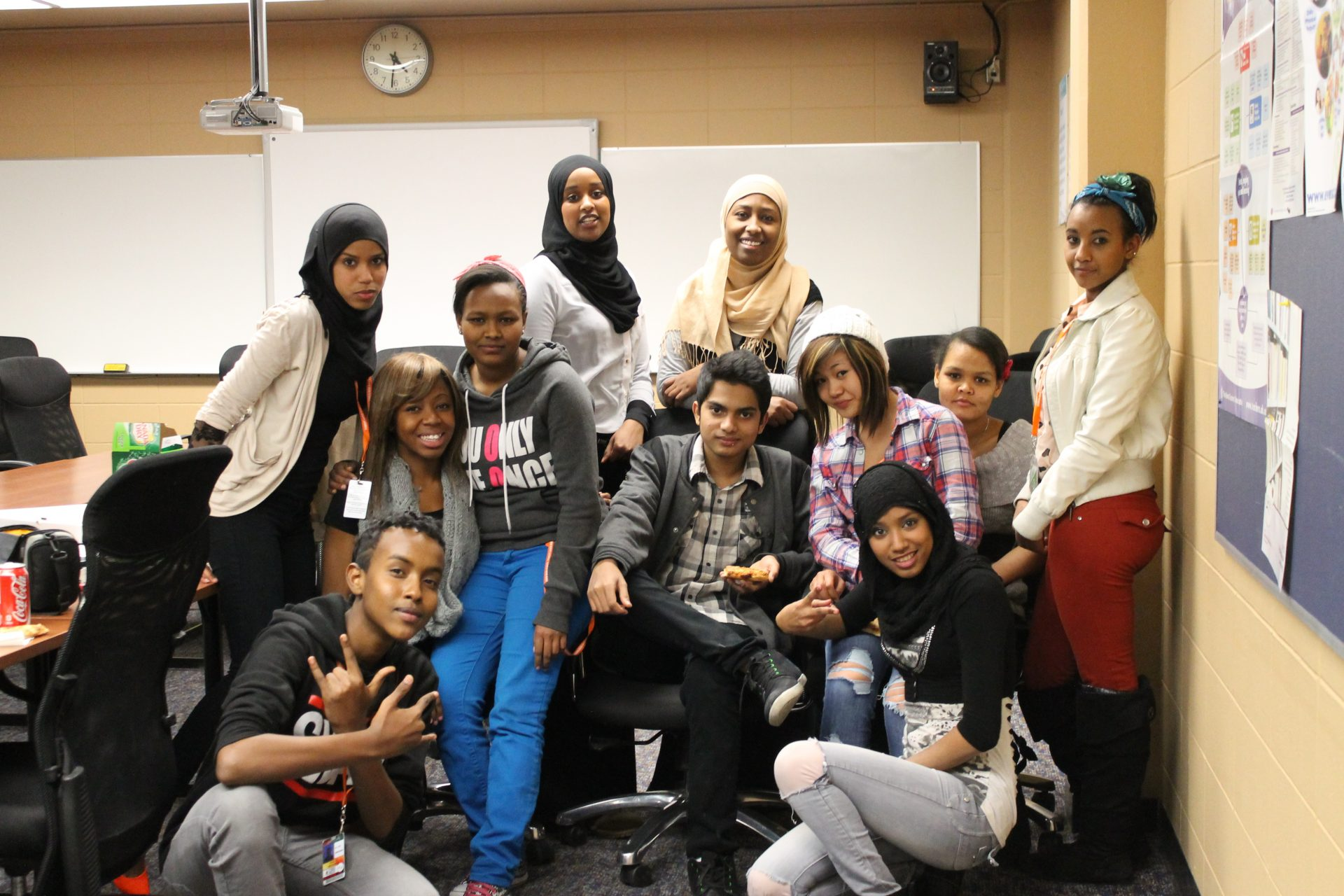 2012 Somali Homework Club Group