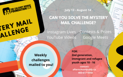Summer Mystery Mail Challenge!
