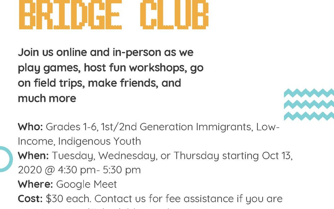 Bridge Club Registration